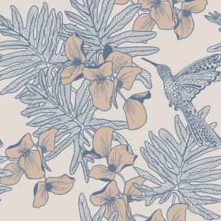 1838 Wallcoverings Hummingbird Wallpaper 1804-117-02