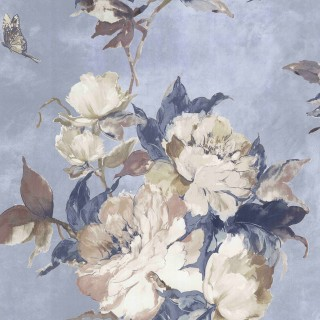 1838 Wallcoverings Madama Butterfly Wallpaper 1703-108-04