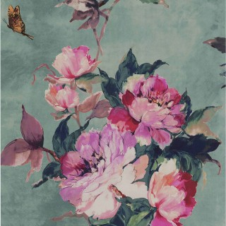 1838 Wallcoverings Madama Butterfly Wallpaper 1703-108-05