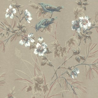 1838 Wallcoverings Rosemore Wallpaper 1601-100-04