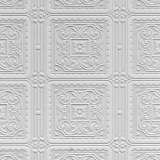 Anaglypta Wallpaper Luxury Textured Vinyl (6a) Collection Turner Tile RD80000