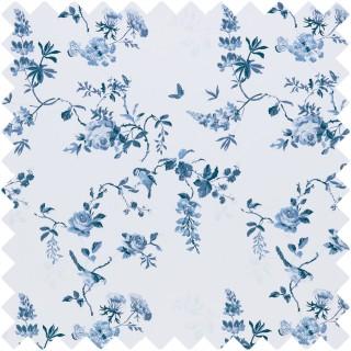 Birds & Roses Fabric BIRDSANDROSESBL by Cath Kidston