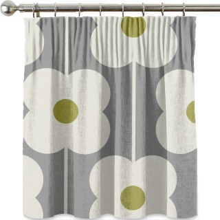 Orla Kiely Abacus Flower Fabric Olive