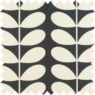 Orla Kiely Giant Stem Fabric Cool Grey