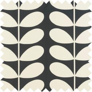 Orla Kiely Giant Stem Fabric Cool Grey