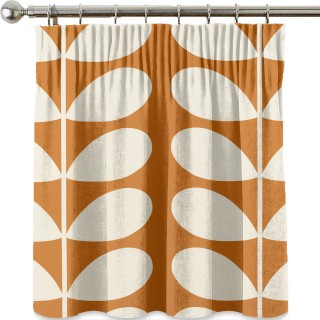 Orla Kiely Giant Stem Fabric Orange