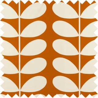 Orla Kiely Giant Stem Fabric Orange