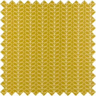 Orla Kiely Linear Stem Fabric Dandelion