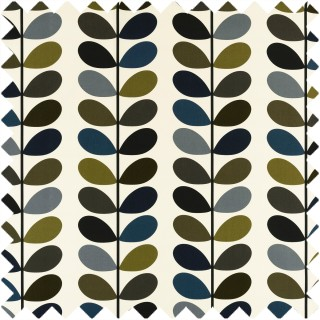 Orla Kiely Multi Stem Fabric Moss