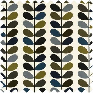 Orla Kiely Multi Stem Fabric Moss