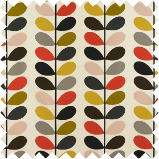Orla Kiely Multi Stem Fabric Tomato