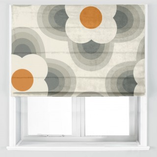 Orla Kiely Striped Petal Fabric Orange