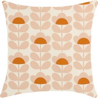 Orla Kiely Sweet Pea Fabric Orange