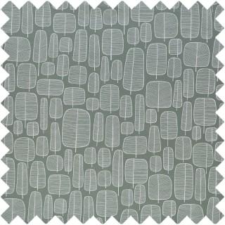 Little Trees Fabric LITTLETREESEN by MissPrint