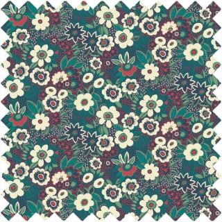 Jungle Gardenia Fabric BAZJUN1905 by Blendworth