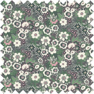 Jungle Gardenia Fabric BAZJUN1907 by Blendworth