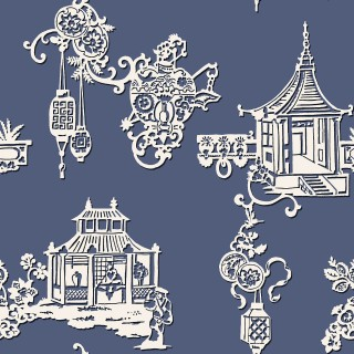 Sketch Twenty3 Wallpaper Pagoda Chinois Collection MH00417