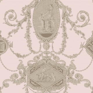 Sketch Twenty3 Wallpaper Regency Toile Collection PV00203