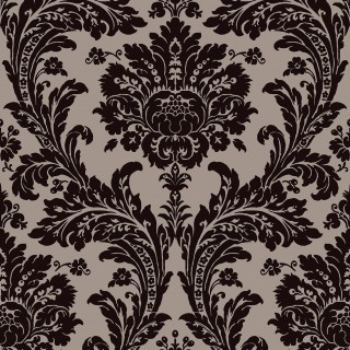 Sketch Twenty3 Wallpaper Regency Grand Damask Collection PV00225