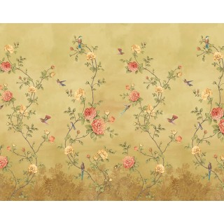 Rose Garden Panel Wallpaper 200455 by BN Walls