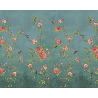 Rose Garden Panel Wallpaper 200456 by BN Walls