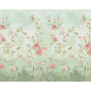 Rose Garden Panel Wallpaper 200457 by BN Walls