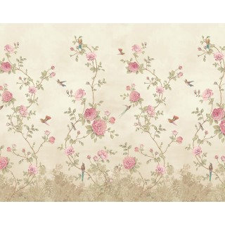 Rose Garden Panel Wallpaper 200458 by BN Walls