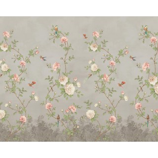 Rose Garden Panel Wallpaper 200459 by BN Walls