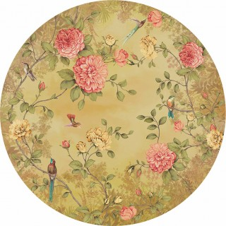 Moonlight Garden Panel Wallpaper 200460 by BN Walls
