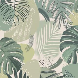 Abstract Jungle Wallpaper BMTD001/01A by Brand McKenzie