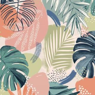 Abstract Jungle Wallpaper BMTD001/01C by Brand McKenzie