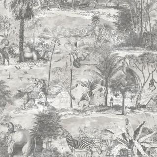 Animal Islands Wallpaper BMTD001/04C by Brand McKenzie