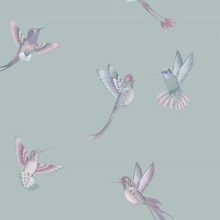 Exotic Birds Wallpaper BMTD001/08A by Brand McKenzie