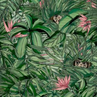 Monkey Forest Wallpaper BMTD001/09A by Brand McKenzie