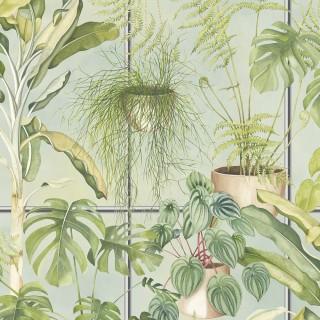 The Green House Wallpaper BMTD001/13B by Brand McKenzie