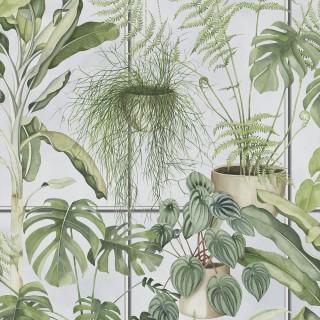 The Green House Wallpaper BMTD001/13A by Brand McKenzie