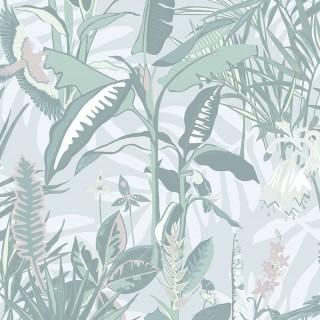 The Tropics Wallpaper BMTD001/14B by Brand McKenzie