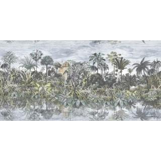 Tropical Reflections Panel Wallpaper BMTD001/16B by Brand McKenzie