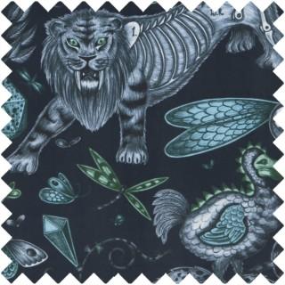 Emma J Shipley Extinct Velvet Fabric F1208/01