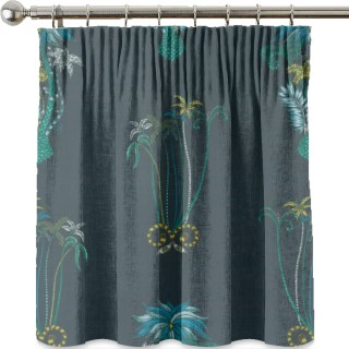 Emma J Shipley Jungle Palms Velvet Fabric F1209/01