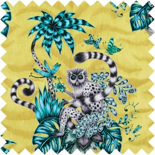 Emma J Shipley Lemur Fabric F1112/02