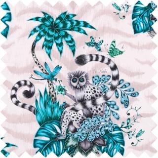 Emma J Shipley Lemur Fabric F1112/04