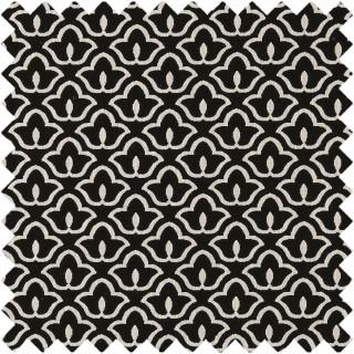 Clarke & Clarke Black & White BW1014 Fabric Collection F0887/01