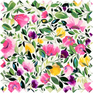 Clarke & Clarke Kim Parker Rosina Linen Fabric Collection F0829/01
