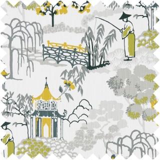 Clarke & Clarke Pagoda Fabric Collection F1290/02