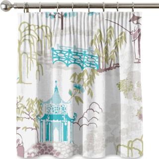 Clarke & Clarke Pagoda Fabric Collection F1290/03