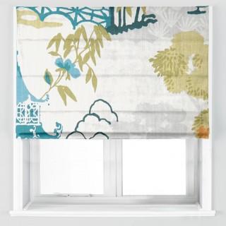Clarke & Clarke Pagoda Fabric Collection F1290/04