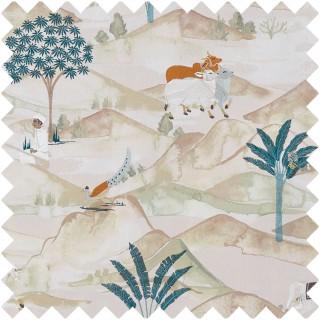 Sahara Fabric F1371/04 by Clarke and Clarke