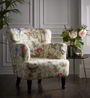 Botany Armchair Summer by Clarke and Clarke