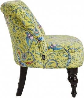 Rousseau Cocktail Chair Lime by Emma J Shipley